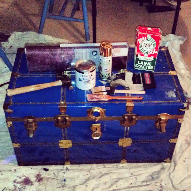 diy: trunk coffee table | pieces of the week